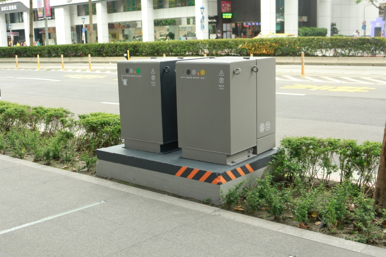 Shiny new power boxes transform city sidewalks