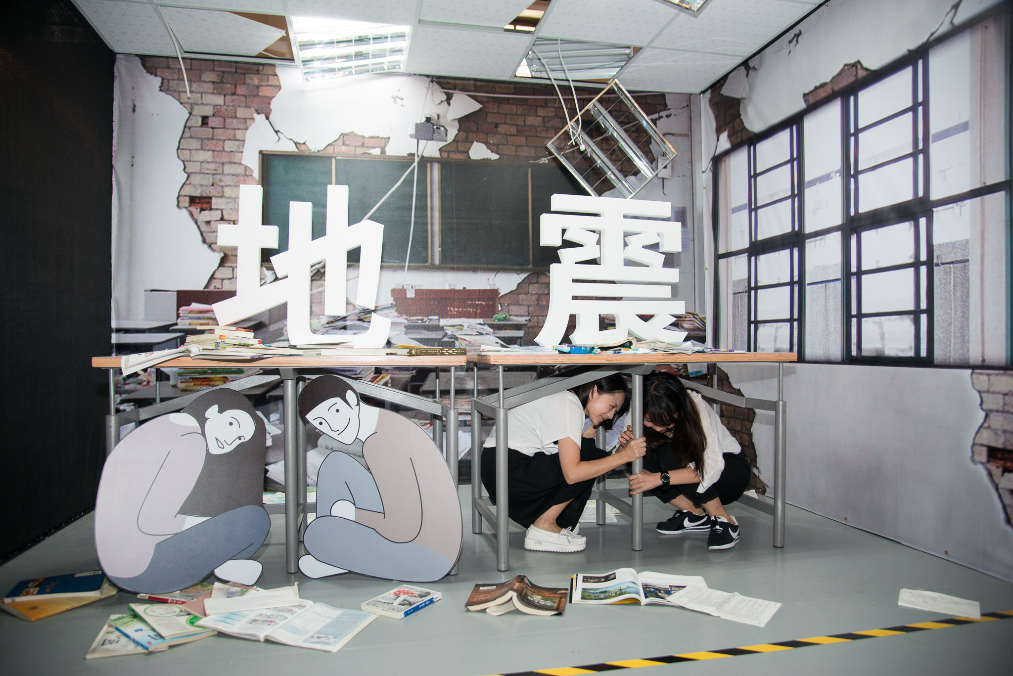 taiwan designers' week Earthquake Proof Table2