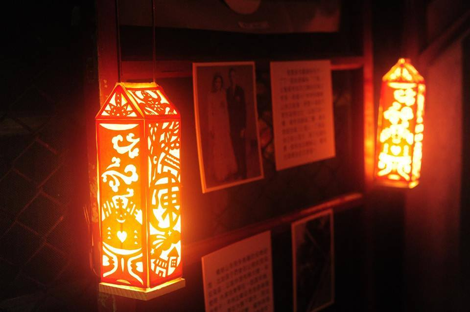 Lanterns made with paper