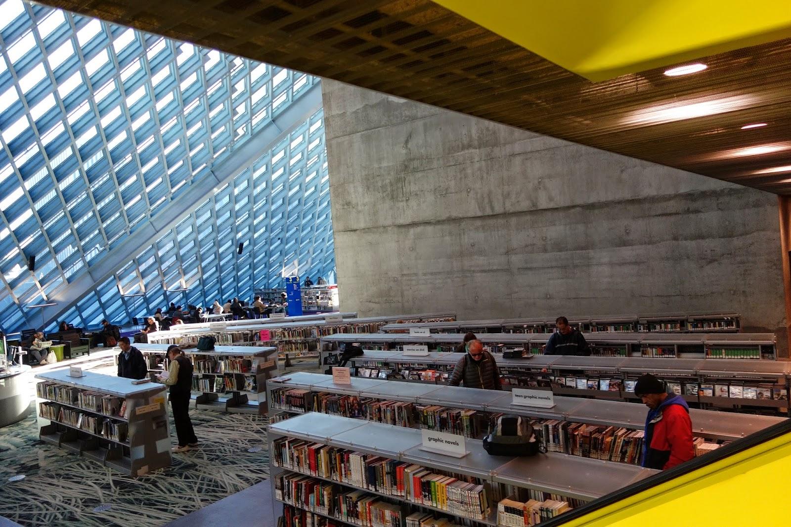 西雅圖中央圖書館 攝影林珮芸