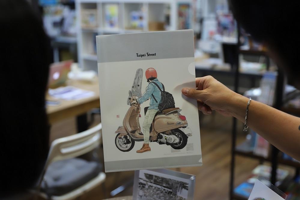 Manga・龍山書店匯聚了臺灣漫畫創作者的作品。(攝影/李歐)