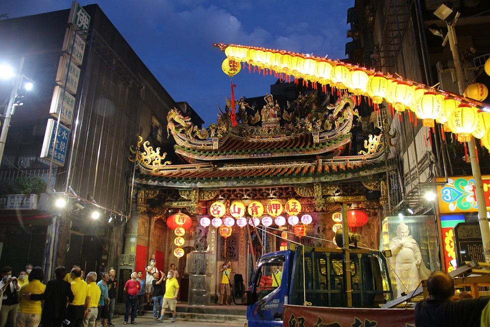 艋舺青山宮的活動是在地極具代表性的民俗文化祭典。(圖/龍山文創基地FB)