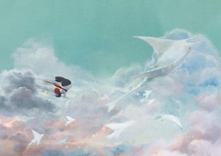 圖說/《雲海上的小郵差》透過 30 張明信片,講述一個在失去之後,重新相信的故事。
