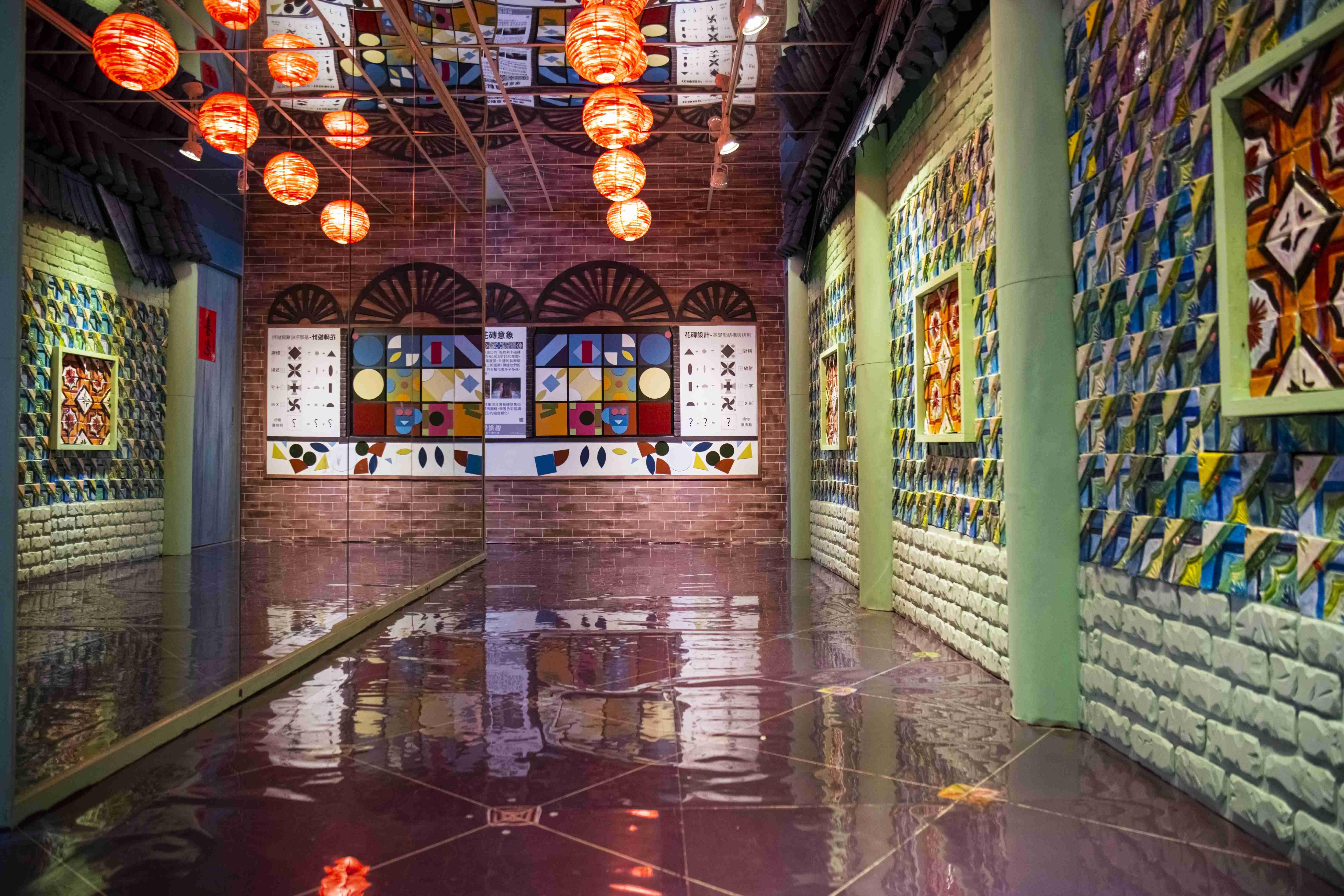圖說/位於艋舺龍山文創基地的美學拼圖展覽空間