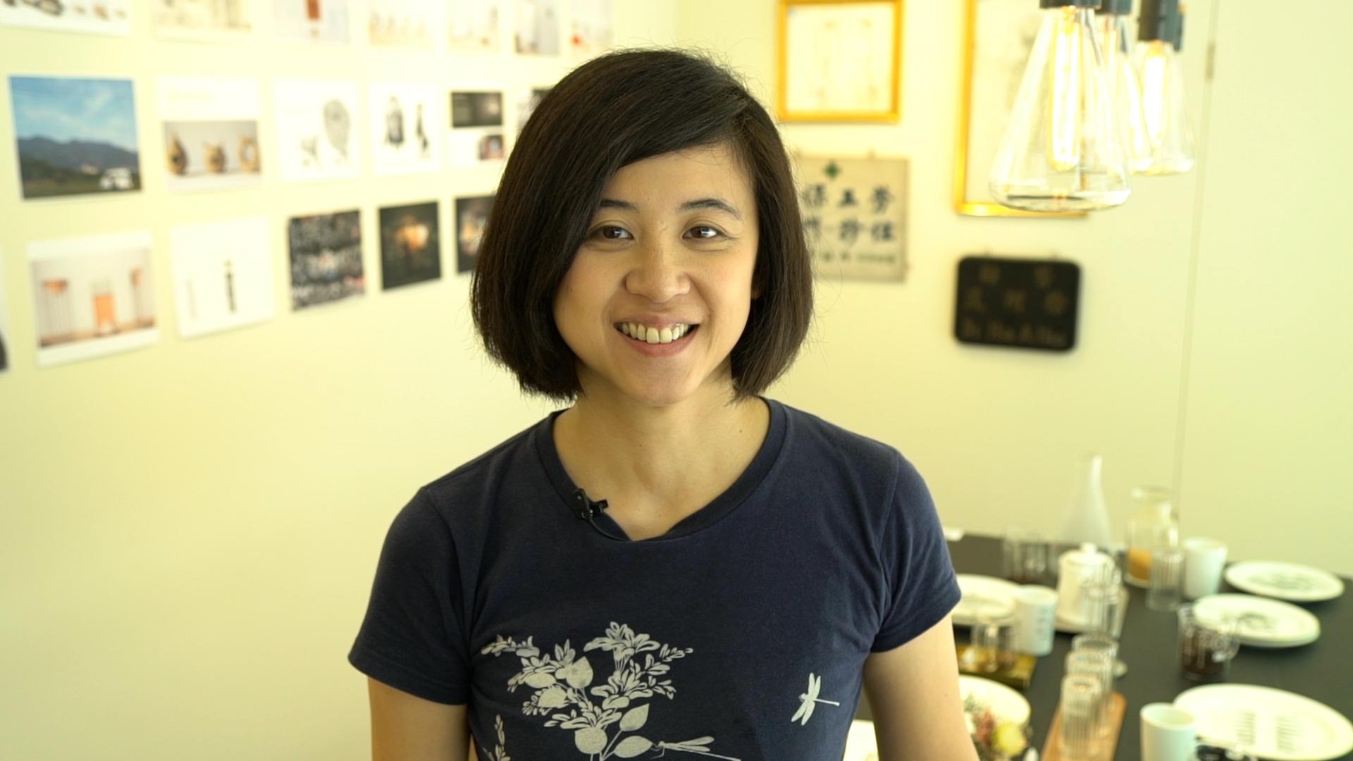工業設計師Gina(徐景亭)