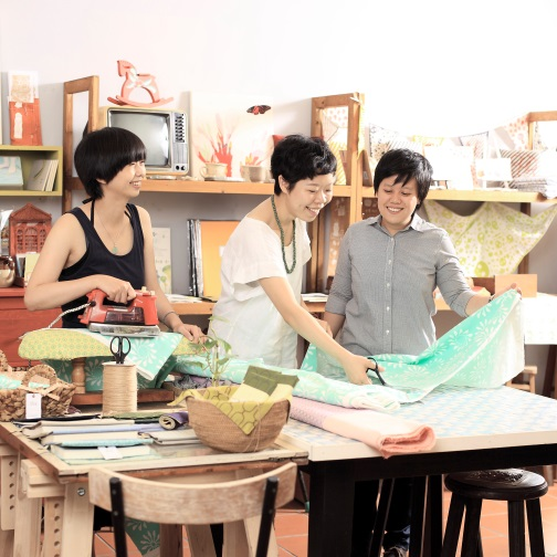 印花樂|由三位熱愛創作的好友在2008年共同成立「印花樂藝術設計有限公司」