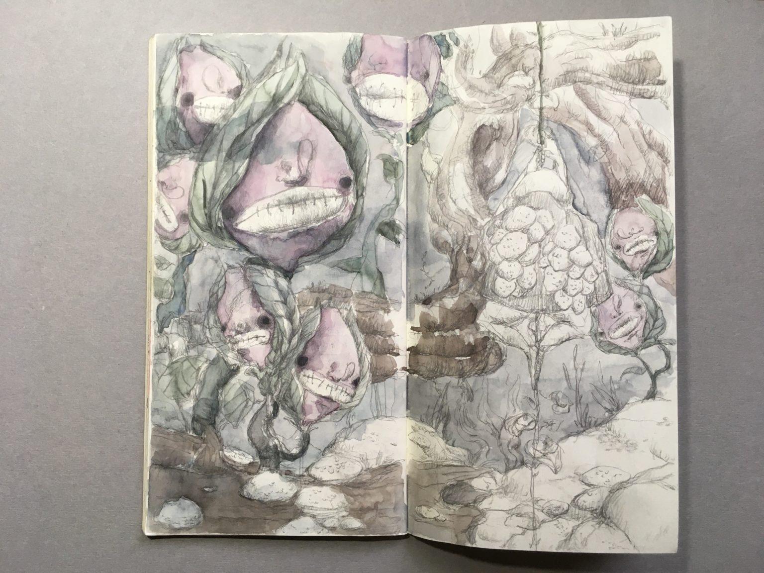 月昇山谷繪本內頁5