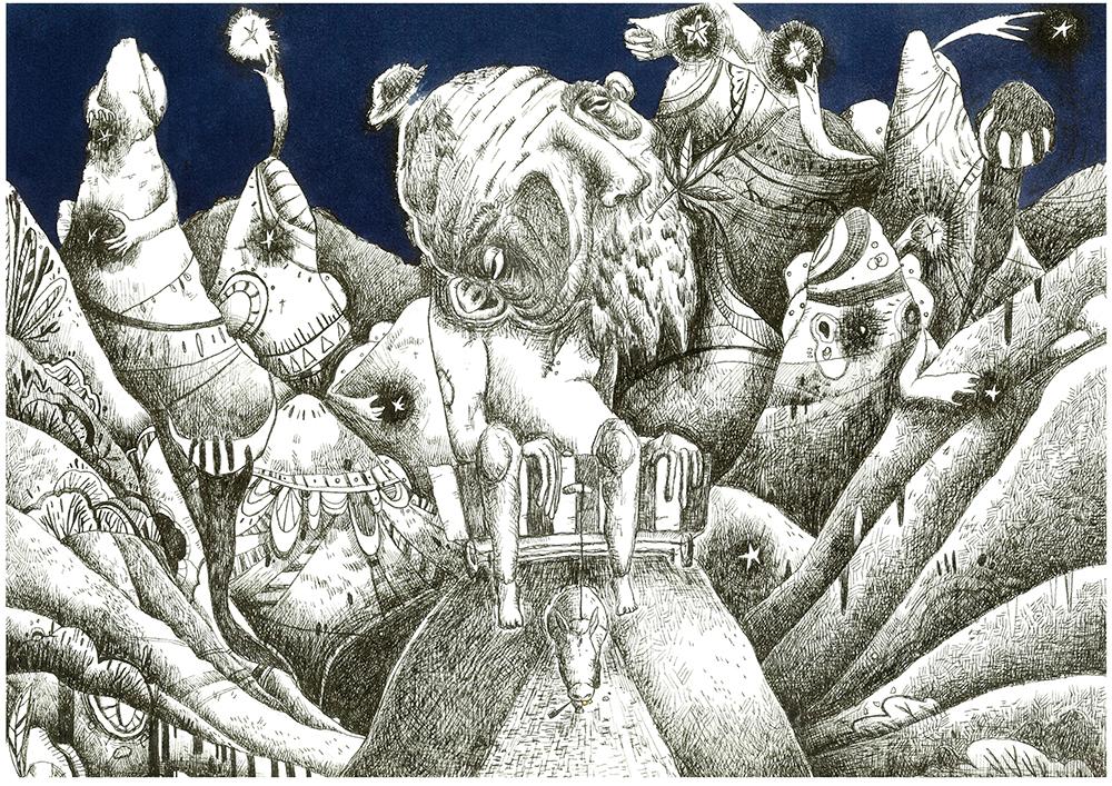 重複的力量,是孕育故事與傳說的養分 ── 專訪《月昇山谷》創作者暢與塵