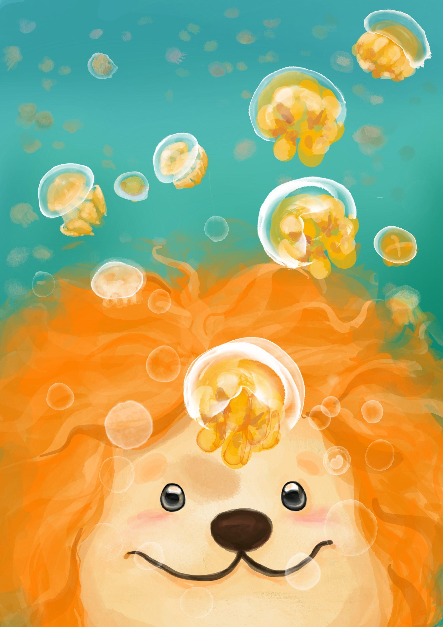 跟著一首獅去旅行繪本頁面1