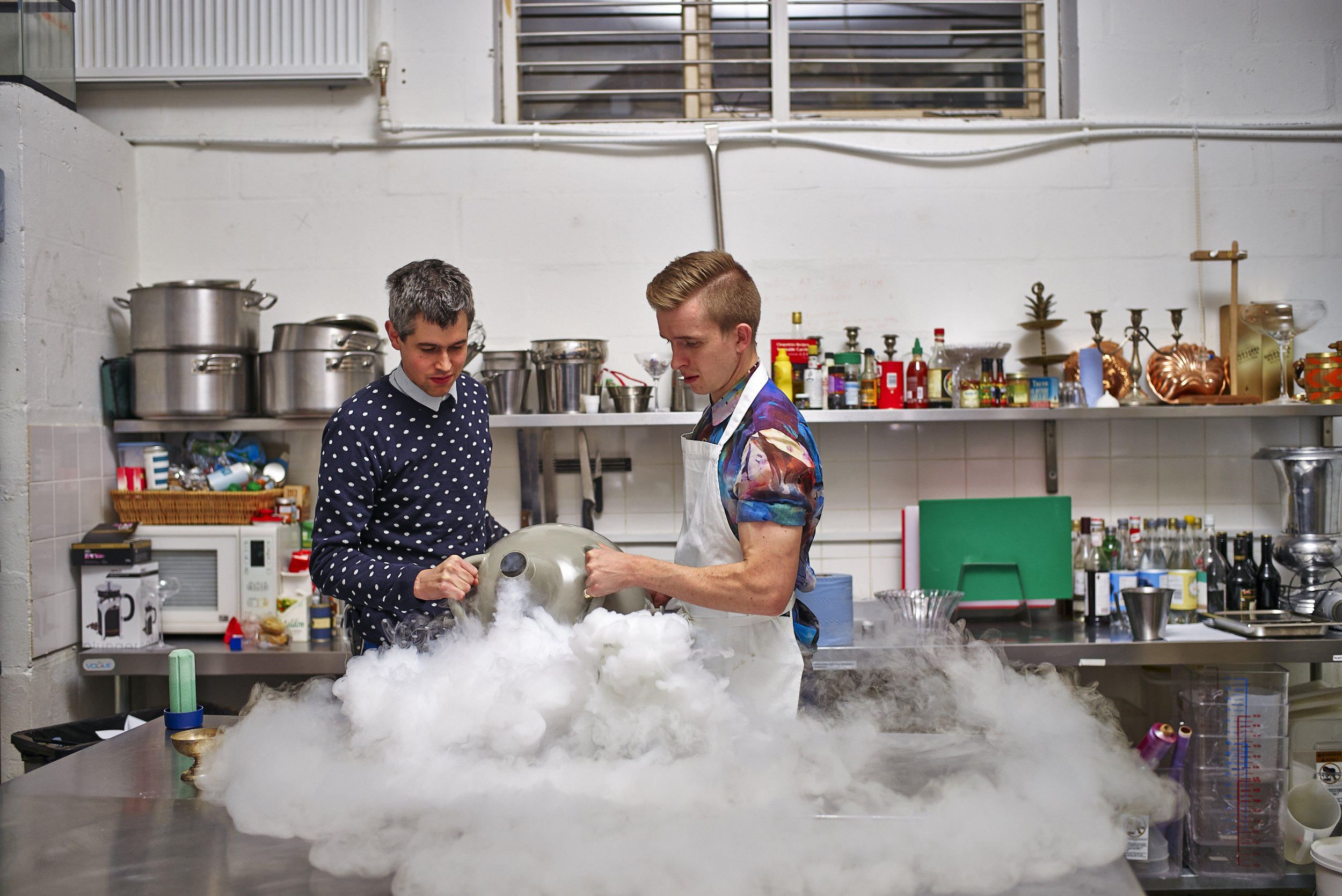 kitchen shot-Bompas and Parr