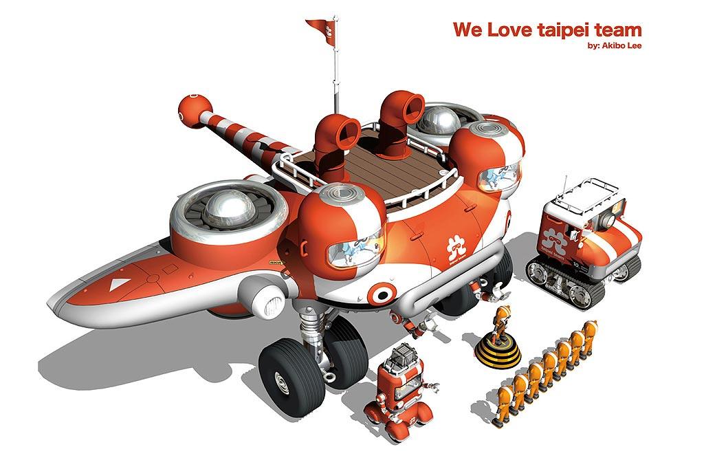 李明道-Akibo的一系列機器人作品