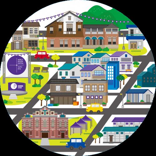 形塑地方特色魅力:創意街區發展計畫