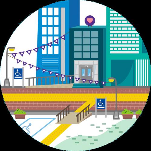 打造城市友善環境:通用設計推動計畫